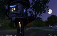 要塞で遊ぶクラークとレックス