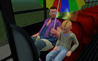 おっさん妖精、スクールバスに乗る