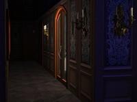 夜のヴァンパイア邸・廊下