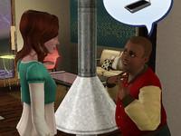 ミランダにルームランナーをねだる(ように見える)アル君