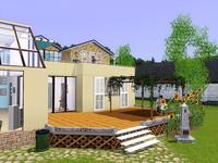 ソード家の裏庭