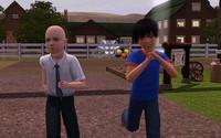 小学生のレックスとクラーク