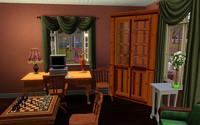ケント家の書斎