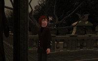Grim's Ghastly Manor に到着したアーヴィン