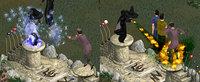 シムピ魔法対決