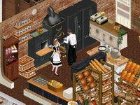 パンとケーキ屋さんの調理場