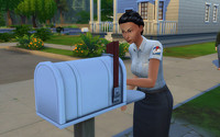 シムズ4の郵便屋さん