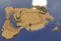 現在の砂漠の孤島の状態