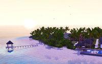 夕方の Suvadiva Resort