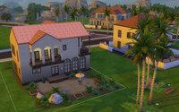 Oasis Springs の住宅街