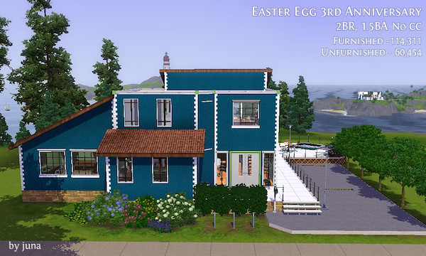 House for Easter Egg 3rd Anniversary